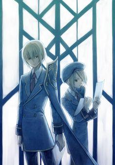 BlazBlue - Noel and Jin
