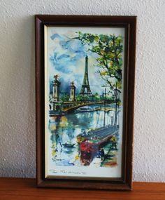 Watercolor of Arno in Paris - Google Search