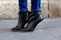 Leather Boots by Maison Martin Margiela X H