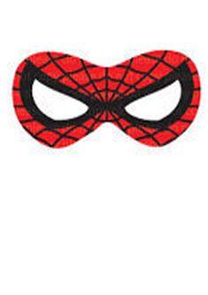 maschere da stampare uomo ragno