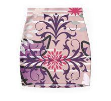 Oriental Garden Goes Wild Pencil Skirt