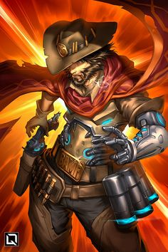 Overwatch Mccree Hot Game