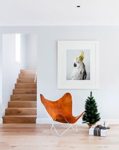 The artwork, *'Slim' – Sulphur-Crested Cockatoo* by Leila Jeffreys, is a beautiful piece that the whole family adores.
