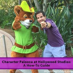 During the afternoon at Hollywood Studios, you might see a group of people waiting. They're likely there for Character Palooza. Here's what it is.