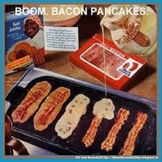 DIY And Household Tips: Yummy Bacon Pancakes