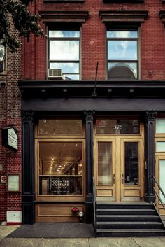 Open for commerce. Counter Culture Coffee Training Center / Jane Kim Design.