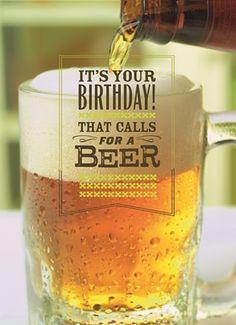 Afbeeldingsresultaat voor happy birthday bier