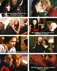 """Spike + Drusilla: """"Me and Dru, we're movin' in."""" #btvs"""