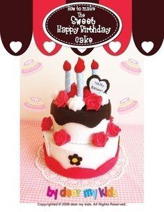 He encontrado este interesante anuncio de Etsy en https://www.etsy.com/mx/listing/60602961/sweet-birthday-cake-play-set-pdf-pattern