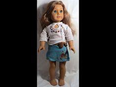 Pleasant Company American Girl Nicki Nikki Fleming Doll 2007 Meet Outfit/Dress