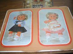 Carton de propaganda de muñeca Nicasia de Esvi