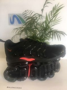 brand new 55dd1 7134d 2018 Shop Nike Air Max TN Plus Coal Black Red Nike Air Max Tn, Nike