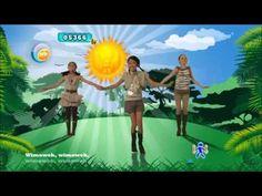 Just Dance Kids 2 The Lion Sleeps Tonight - YouTube