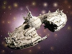 Star Wars LEGO Droid Control Ship byPaul Yperman - 30,000 pieces.