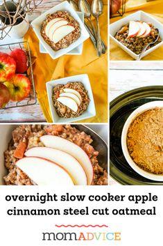 Slow Cooked Honey Crisp Apple Oatmeal - New Site Apple Oatmeal, Apple Crisp, Oatmeal Recipes, Apple Recipes, Mcintosh Apples, Fall Breakfast, Breakfast Ideas, Breakfast Recipes, Kitchens