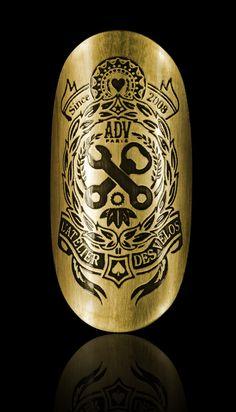 Head Badge ADV (BD) by Insignia Works