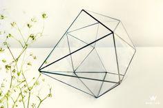 Encantador! Wabi-Sabi Ateliê Terrário Diamante Pedra Pura ▽