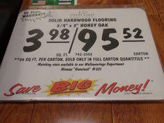 flooring pricing at Menards