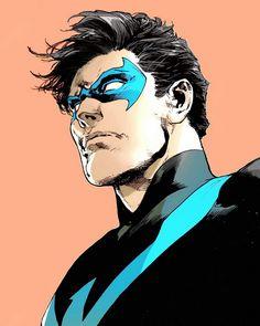 Dick Grayson in Nightwing #19 - Ivan Reis