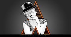 Clockwork Orange meets fashion imagery with a dash of tattoo. Ultraviolence.