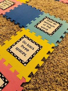 Life-Size Board Games for Teaching Multiple Concepts
