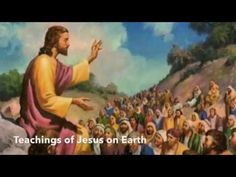 """I will be covering part 31 of 43 in my weekly """"Teachings of Jesus on Earth"""" bible study. We will be looking at the teachings of Jesus in the Bible. Beatitudes, Christian Videos, Bible Stories, Funny Memes, Earth, Movie Posters, Painting, File Folders, Moral"""