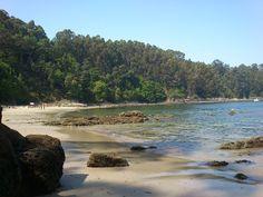Arnela....pequeña y bonita playa en Sada (La Coruña)