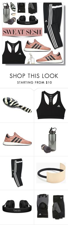 """""""Gym Style"""" by peony-and-python ❤ liked on Polyvore featuring Rock & Ruddle, adidas, adidas Originals, J.Crew, Beats by Dr. Dre, STELLA McCARTNEY, Marc Jacobs, sporty and sweatsesh"""