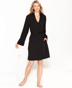 Charter Club French Terry Kimono Robe - Robes & Wraps - Women - Macy's