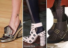 Fall/ Winter 2016-2017 Shoe Trends: Shoes with Studs (ЗАКЛЕПКИ)
