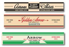 Vintage Graphics for Arrow Europe.