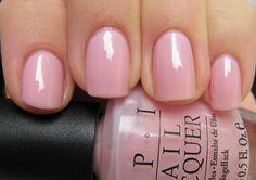 Perfect pink nail polish!
