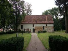 Sankt Johann auf dem Friedhof der sich am Gelände des ehem. römischen Reiterkastells in Aalen befindet.