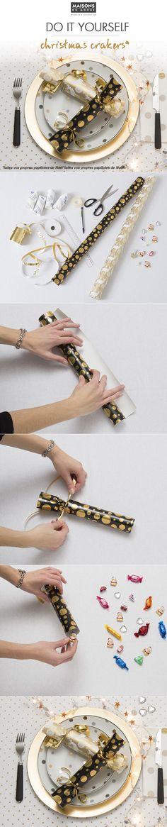 Pour en savoir plus :http://blog.maisonsdumonde.com/tendances/diy-table-de-fetes-fabriquer-des-christmas-crackers/
