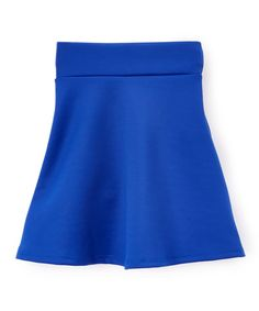 Cobalt Blue A-Line Skirt - Toddler & Girls
