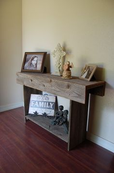 Reclaimed Wood Furniture TV Stand 36 In Long and by TRUECONNECTION, $200.00