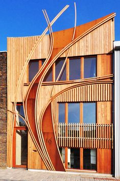Amazing New Townhouses in Leiden by 24H Architecture