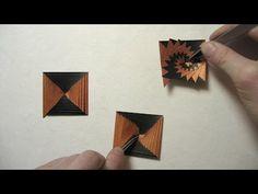 ▶ First Origami Fold in 2014: Single Strip Square Curlicue (Assia Brill) - YouTube