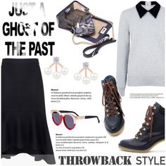Throwback Style: Dr. Martens by ifchic on Polyvore featuring Edit, Miista, Mohzy, Preen, contestentry, ifchic and throwbackstyle