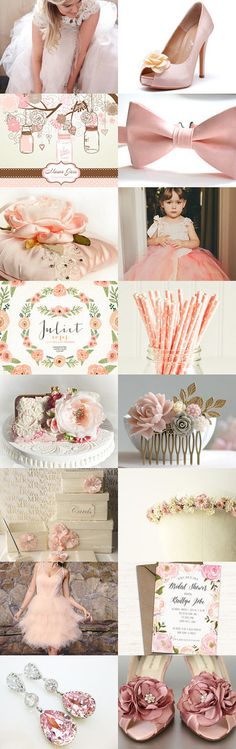Pink wedding by Csilla Molnar on Etsy--Pinned with TreasuryPin.com