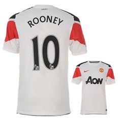 buy online 41ded 7fe7f Nike Manchester United Rooney Soccer Jersey (Away 201011)  SoccerEvolution http