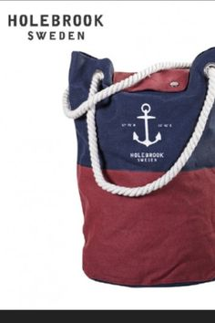 Classical sailing bag from Holebrook