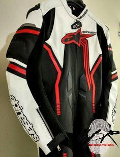 Jackets Lower Price with Suzuki 4269 White Motorbike Motorcycle Cowhide Leather Jacket And Leather Gloves Coats & Jackets