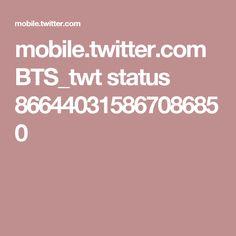 mobile.twitter.com BTS_twt status 866440315867086850
