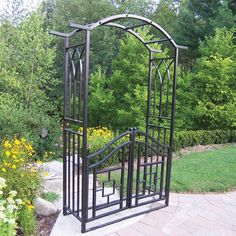 Arbors and Trellises | Wayfair - Buy Garden Trellis, Arbor, Garden Arches Online