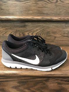 pretty nice a6188 aa7ad Mens Nike Flex 2015 Run BlackGreyWhite Running Shoes Sz. 10.5 ID  709022-001. Mens Nike Free RN Flyknit ...