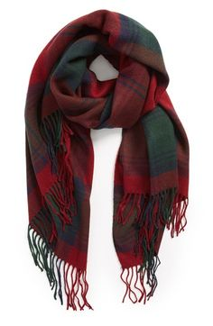 Gifts for Her | plaid scarf