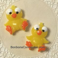 Easter gummy candy kabob toppers -  Figurines gommeuses pour brochette de Pâaques