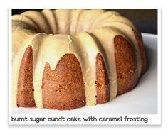 Ice Cream Before Dinner: Burnt Sugar Bundt Cake with Caramel Rum Frosting