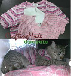 Upcycled ,used t-shirt for Kiwi : ))